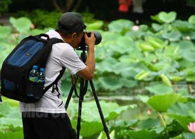 雅思口语对话:关于拍照